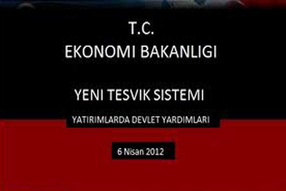 2012 Yılında Devlet Teşvikleri